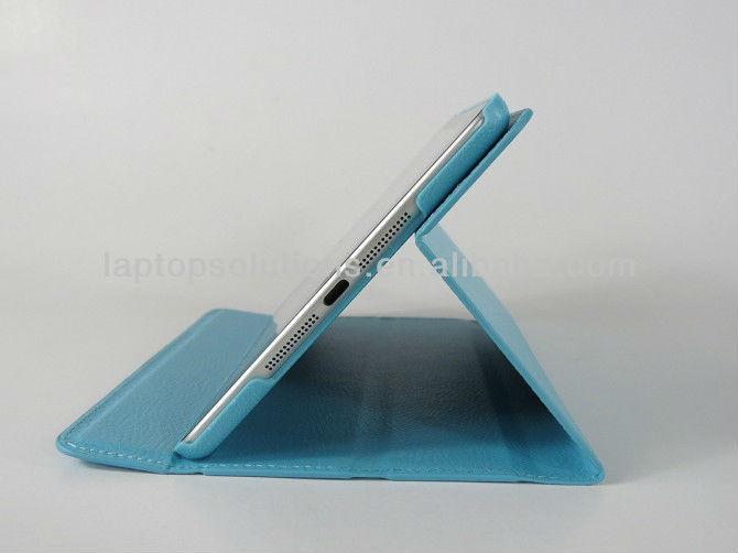 Super Slim stand leather smart case for iPad mini