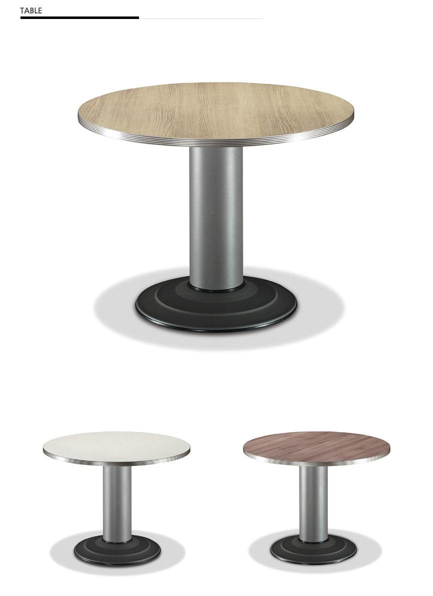Korean Office Furniture Wooden Round Simple Desk In Meeting Room Coffee Table Buy Staples