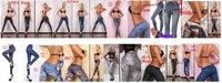 Женские джинсы LeggingsSexy , DHL