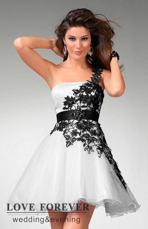 Amato Il vestito e bianco e nero oem - Fashion touch italy BY64