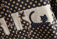 Женские блузки и Рубашки cat tee dropshipping ak185