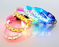 Ошейники и Поводки для собак New Product! The anchor series LED Dog Collar TZ-PET3200 Flashing Dog Collar.MOQ 5 Pcs
