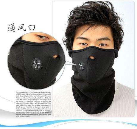 Die Maske für die Person aus dem Kefir von den Falten