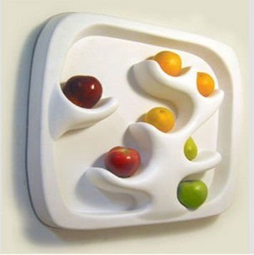 white PP food tray
