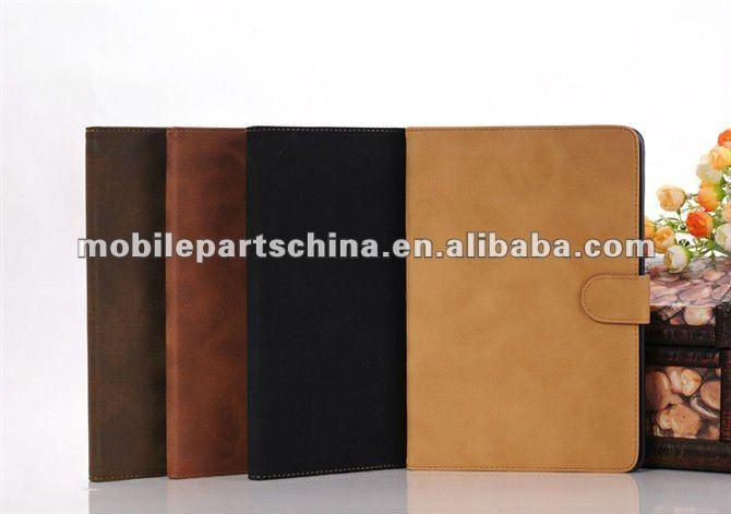luxury leather case for ipadmini