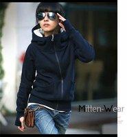 Толстовки одежда женщин два раза даже кепка здоровье одежда секси девушка моды Толстовки кофты 3 цвета 9927