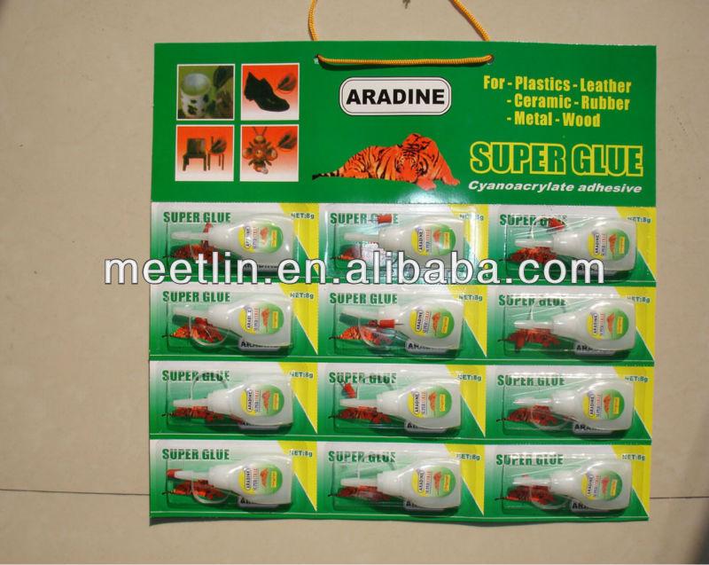 5g/pc super glue/cyanoacrylate adhesive in bottles