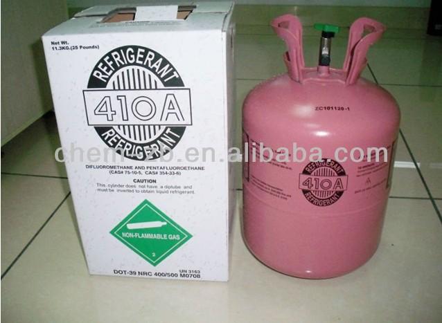 R410a refrigerant gas, HFC-R410a gas,R410a refrigernt gas for A/C,99.9% purity