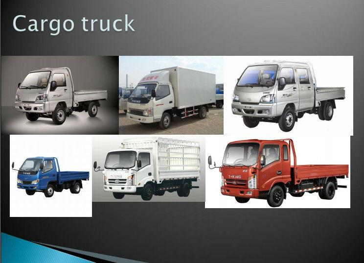 China T-king cheap 2 ton mini cargo van for sale
