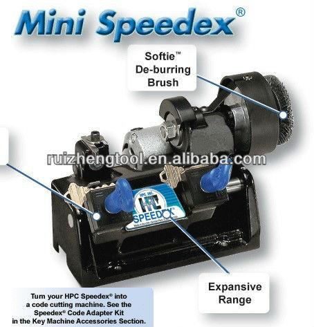 hpc speedex key cutting machine