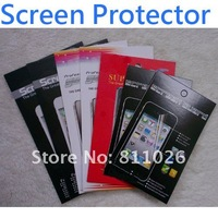 Anti-glare Clear Screen Protector for HTC One X ,With Retail Package+10pcs/lot,free shipping