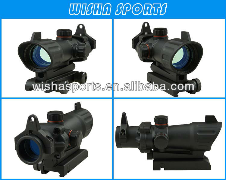 Airsoft 1X32 Red / Green Dot Sight Tactical Gun Scope