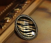 New style retro ellipse ring fashion ring jewelry J1138