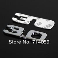 Эмблема для авто 1,8 2,0 2,2 2,4 2,8 3,0 V6 4WD 3D