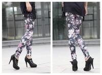 Женские носки и Колготки Women's Fashion Leggings Stretchy Skinny Leg Pants Jeggings, K054