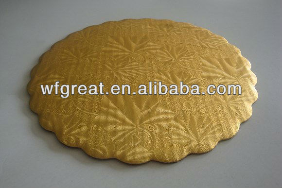 Recycled cake paper tray with low price