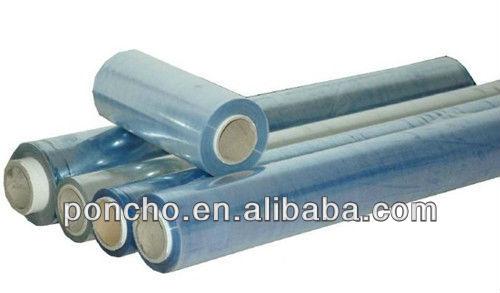 transparent PVC plastic film