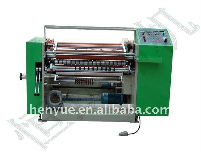 Intermittent label die cutting machine