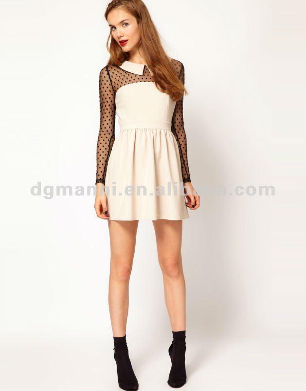 скромная девушка в платье фото