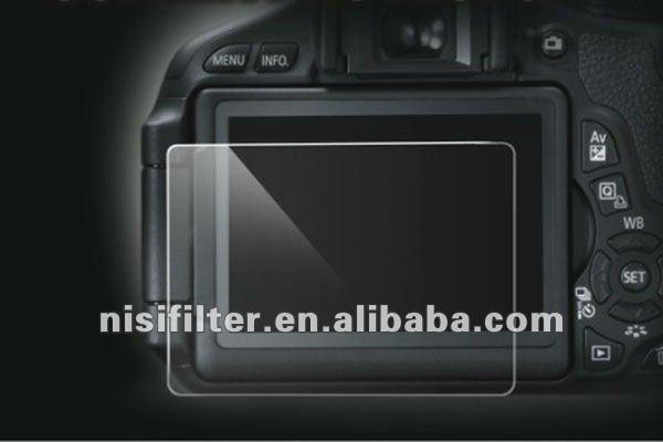 Mas vidro de proteção para tela de toque capacitivo. Vidro óptico protetor de tela para Canon 5D-2