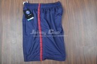 Мужские шорты для футбола Top thailand quality PSG soccer shorts, PSG soccer shorts home blue embroidery LOGO
