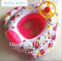 Надувной круг baby hello kitty