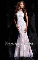 Платье на студенческий бал Terence Bridal TED161 Vestidos Cap Scoop TED169