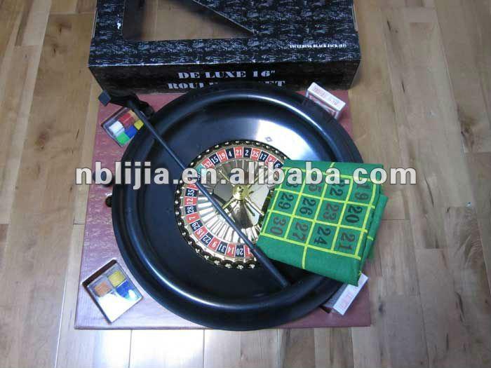 """16"""" roulette poker game set"""