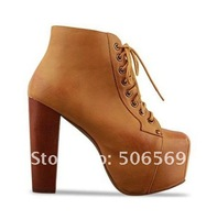Туфли на высоком каблуке 2012 Brand women High Heel Platform shoes 2 colors available /Retailer