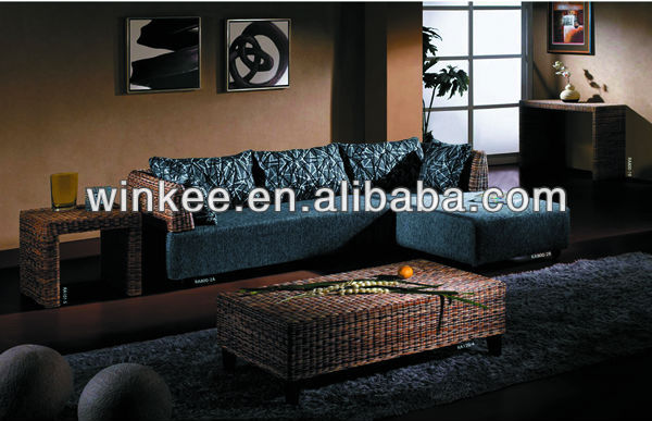 Hot Sale High Quality Modern Rattan Indoor Sofa Furniture