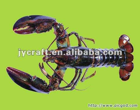 simulation sea food/artificial shrimp model/display/promotion/decoration