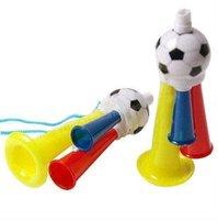 Рожок болельщиков Plastic horns 300pcs/Lot football horn