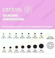 Стразы для одежды GENUINE Swarovski Elements ss30 AB Crystal Clear 12 pcs Loose Round Glass Rhinestone 30ss 2058 FLATBACK