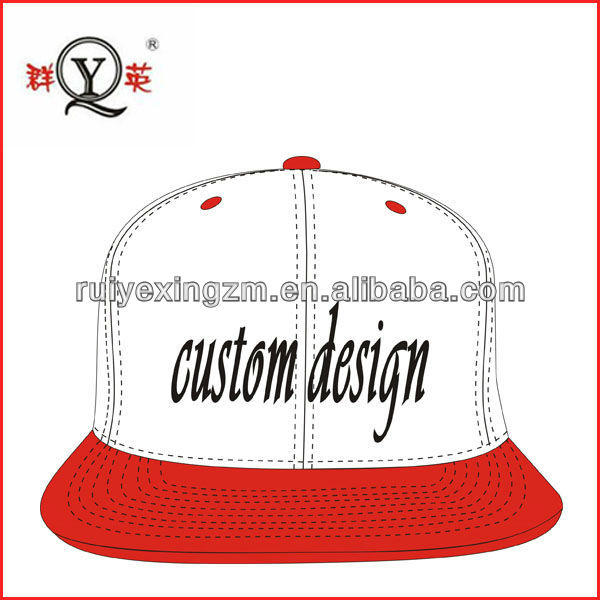 Custom OEM 5 Panel Cap embroidered logo