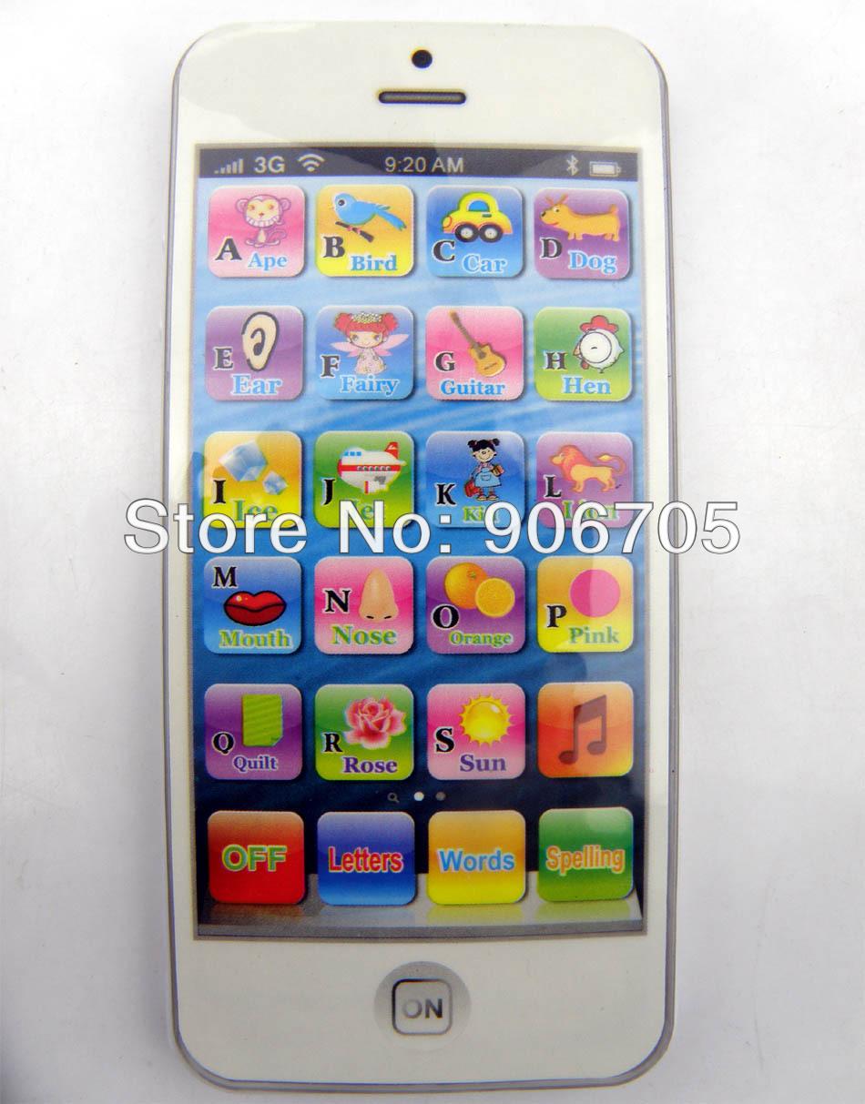 2018 Electronic Toys Phone 5 English Electronic ToysBaby Toys
