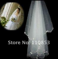 Свадебная фата Two-Layer Appliques Wedding Veil