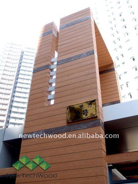 Exterior Wpc Wall Cladding Board - Buy Wall Cladding,Waterproof Wall ...
