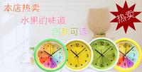 Настенные часы Creative Rustic lemon clocks Wall clock fashion personality Kitchen silent movement quartz clock Home Decoration