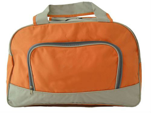 Travel Bag with U-shaped Zipper Opening, Made of Polyester