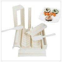 Free shipping sushi mold soshi maker set tools DIY cutter hot sale high quality with retail box 10pcs/set