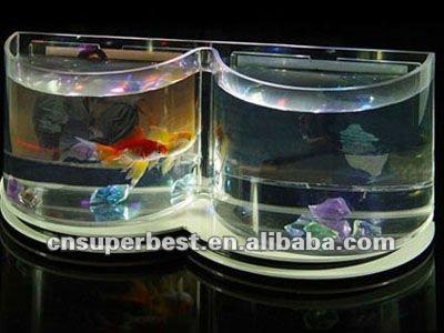 large transparent cube Acrylic aquarium fish tank