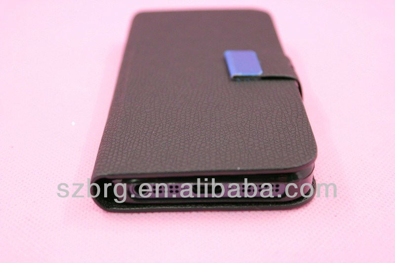 PU leather mobilephone case for iphone 5 new unique design