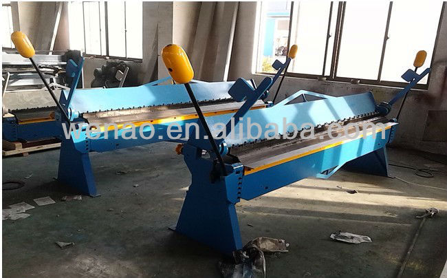 Hand bending machine (WH06-2.5*4000)