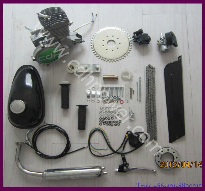 Gas motor kit/bicycle engine kits 2 stroke A80(80cc/60cc/50cc)