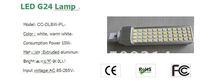 Растровый светильник 10W LED G24 Lamp