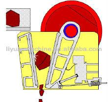 Pe250*1200 haute efficacité concasseur à mâchoires de pierre