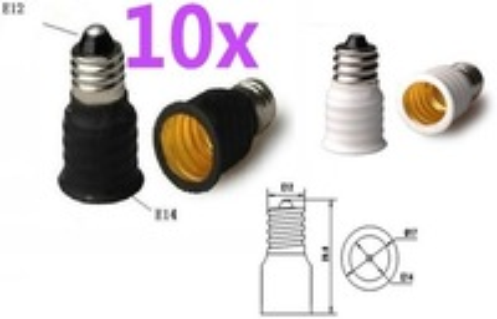 Преобразователь ламп FULL MATCHER 10 E12 E14 LED Socket E12/E14 E12-E14