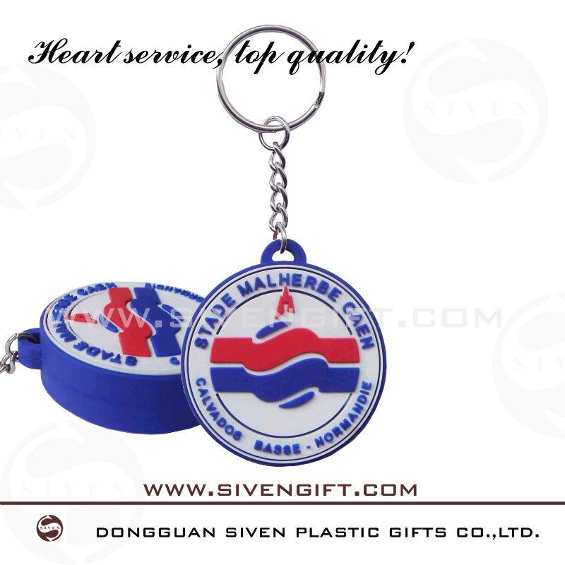canada ice hockey promotion pvc custom keychains