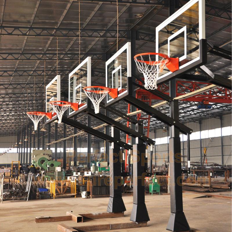 "Square Basketball Pole Padding 4"" 5"" 6"" 8"""