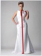 Wedding Dress | Affordable Red and Black Wedding Dress